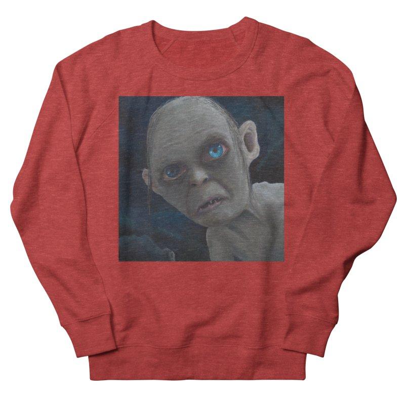 Smeagol Men's French Terry Sweatshirt by mybadart's Artist Shop