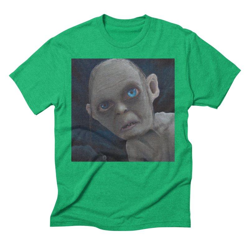 Smeagol Men's Triblend T-Shirt by mybadart's Artist Shop