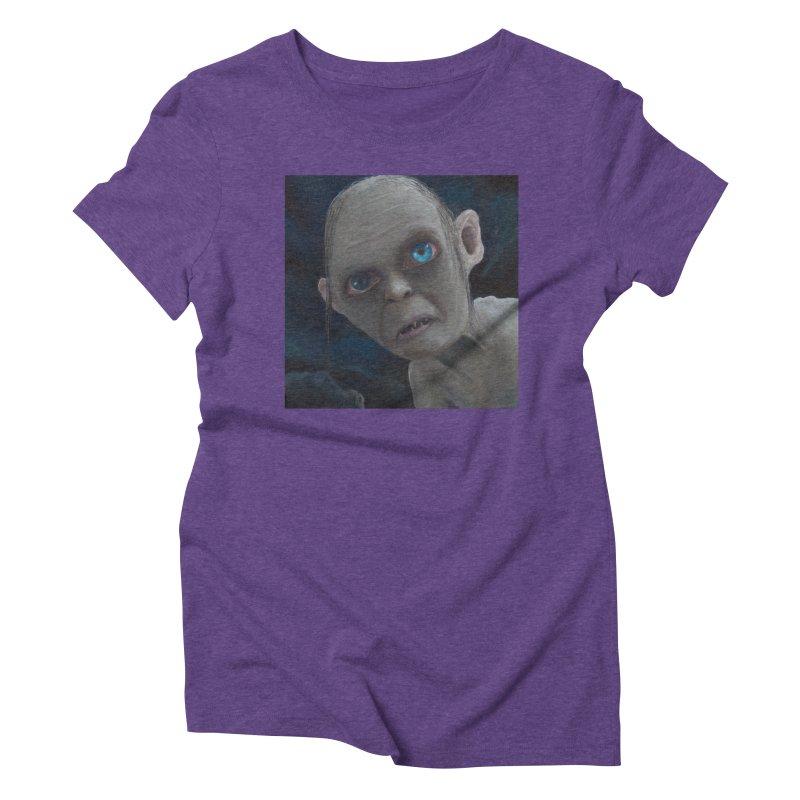 Smeagol Women's Triblend T-Shirt by mybadart's Artist Shop