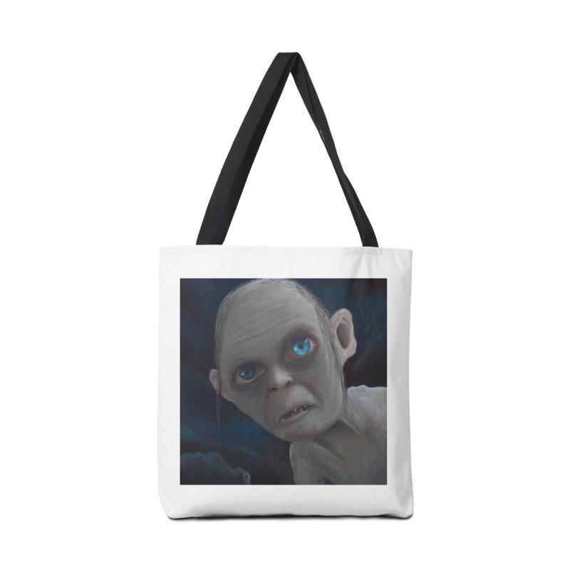 Smeagol Accessories Bag by mybadart's Artist Shop
