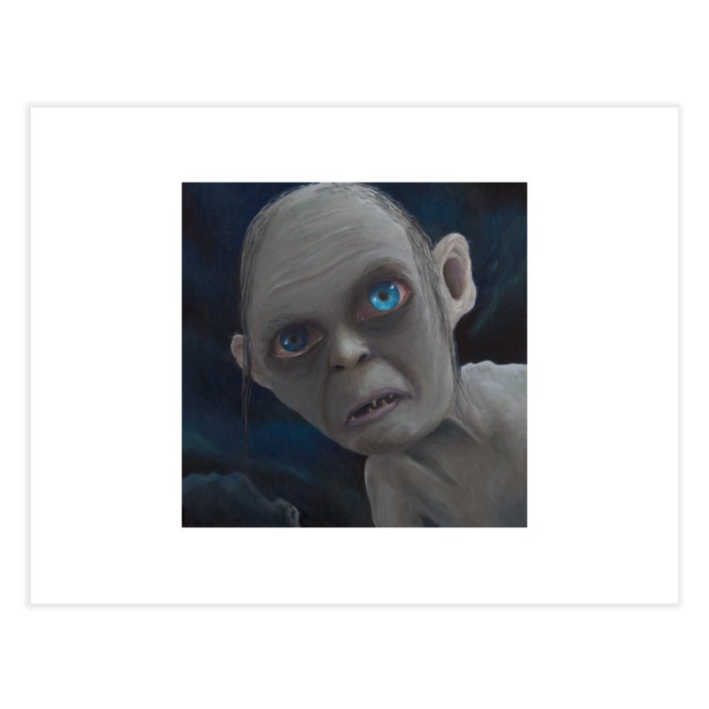 Smeagol Home Fine Art Print by mybadart's Artist Shop