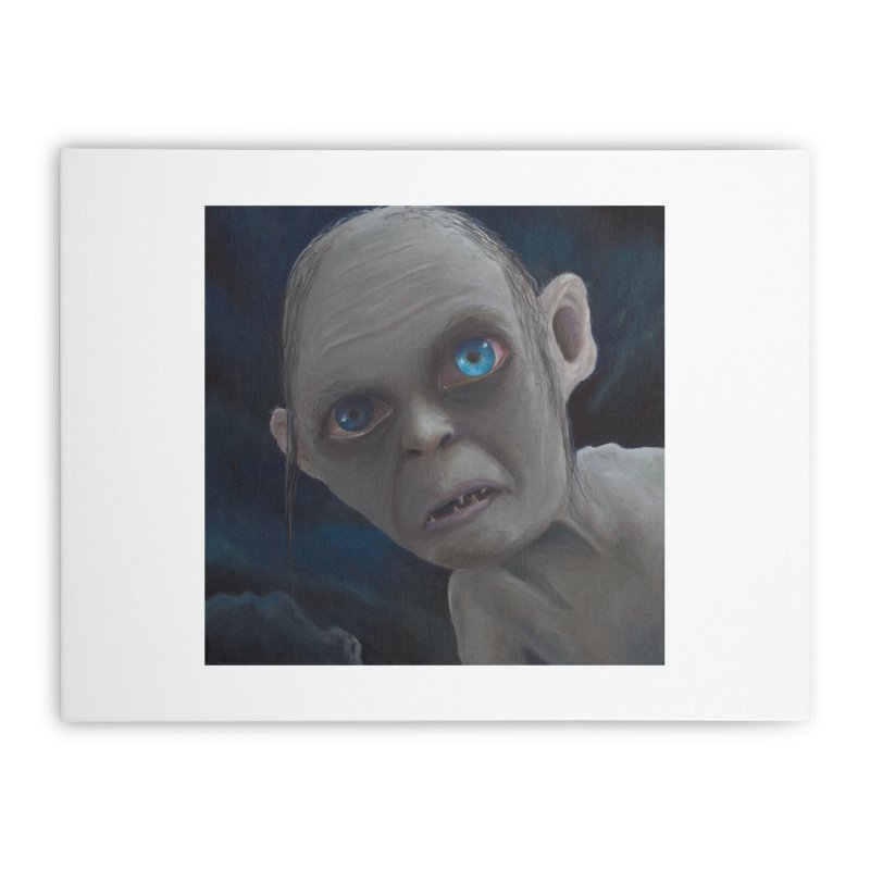 Smeagol Home Stretched Canvas by mybadart's Artist Shop