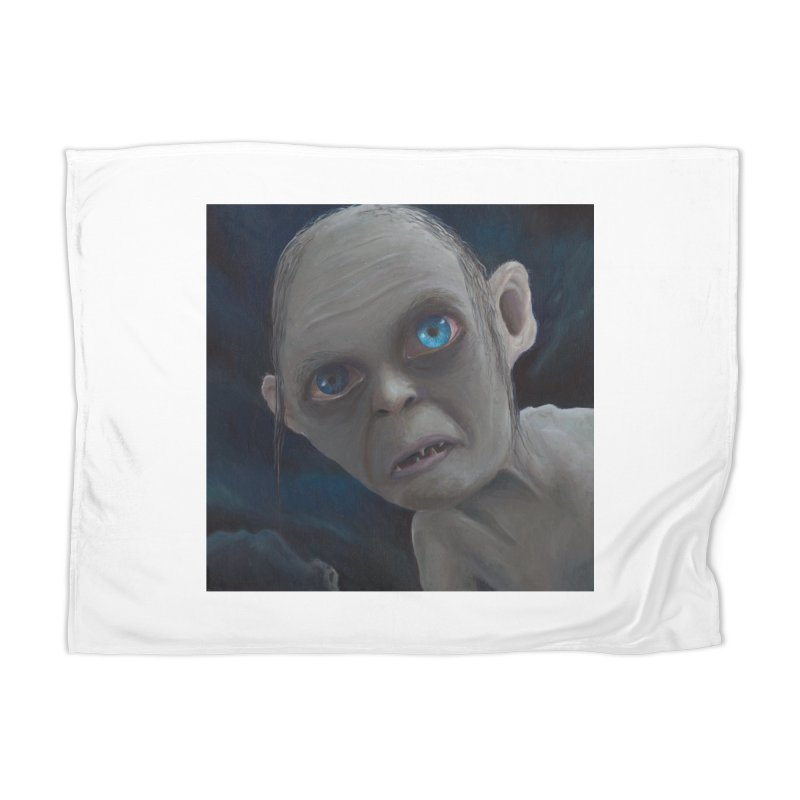 Smeagol Home Blanket by mybadart's Artist Shop