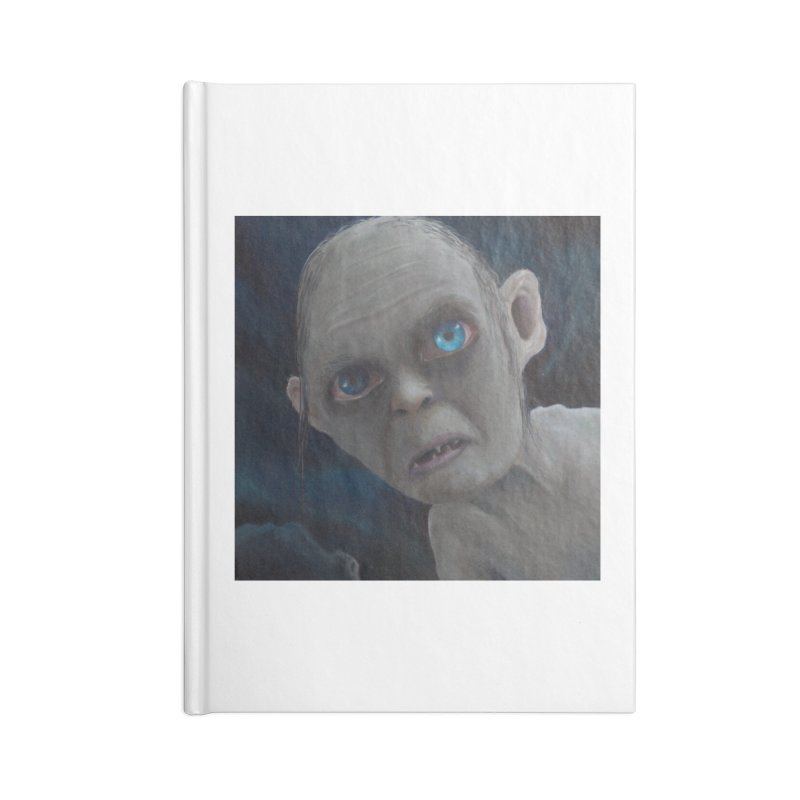 Smeagol Accessories Blank Journal Notebook by mybadart's Artist Shop
