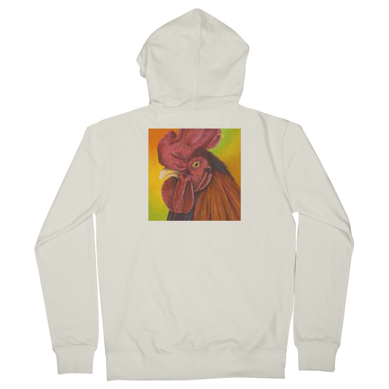 Cock Ring Women's French Terry Zip-Up Hoody by mybadart's Artist Shop