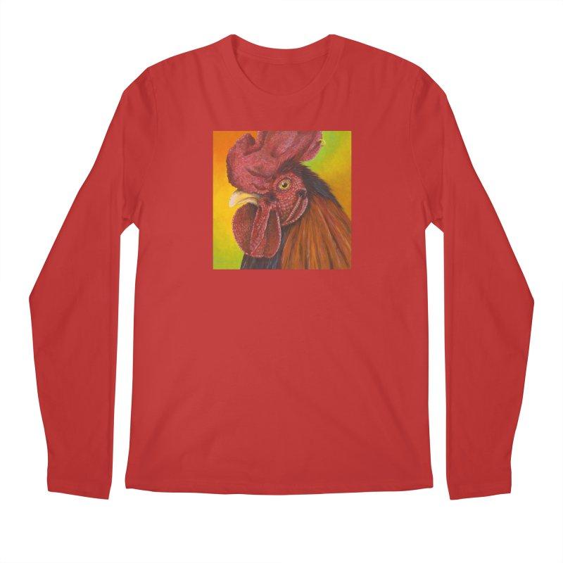 Cock Ring Men's Regular Longsleeve T-Shirt by mybadart's Artist Shop