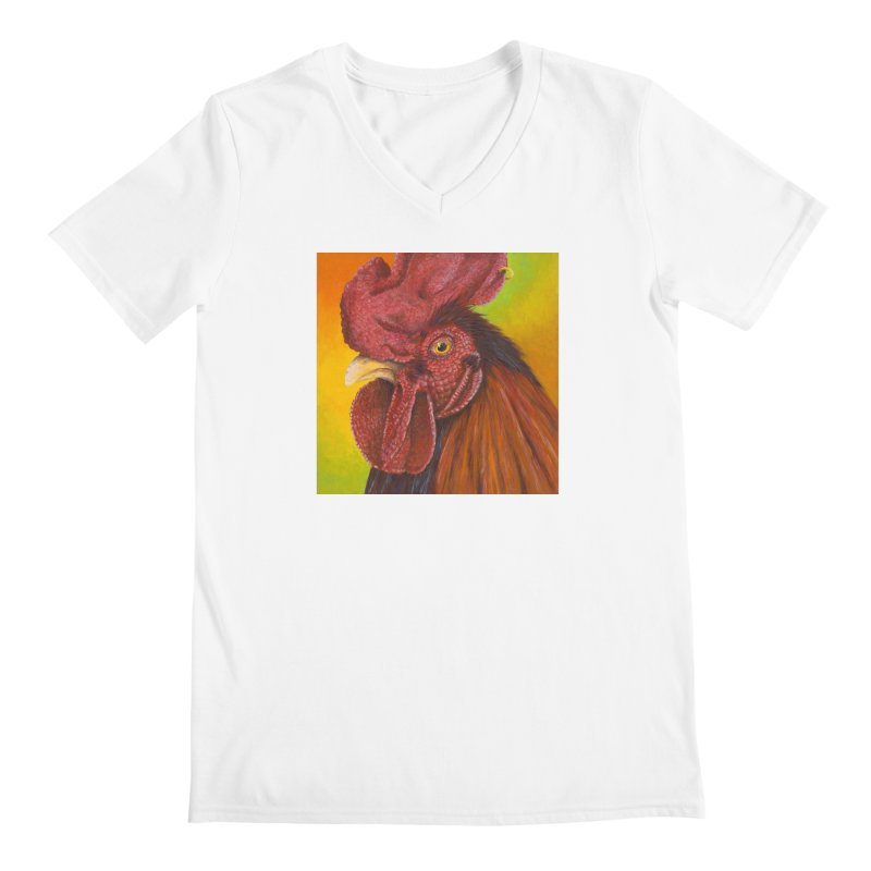Cock Ring Men's V-Neck by mybadart's Artist Shop