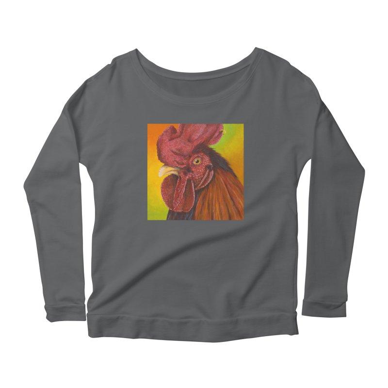 Cock Ring Women's Scoop Neck Longsleeve T-Shirt by mybadart's Artist Shop