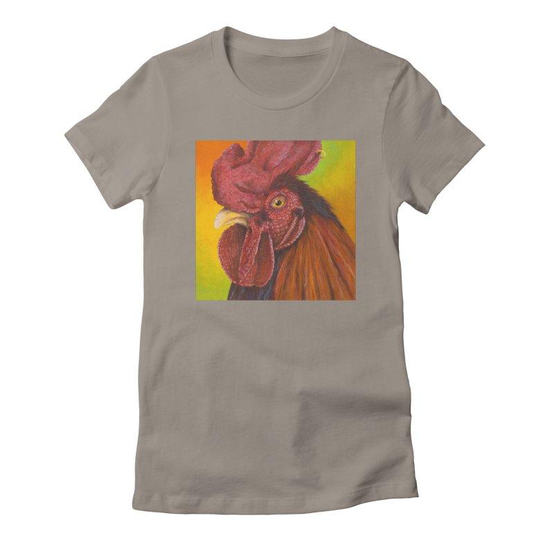 Cock Ring Women's Fitted T-Shirt by mybadart's Artist Shop