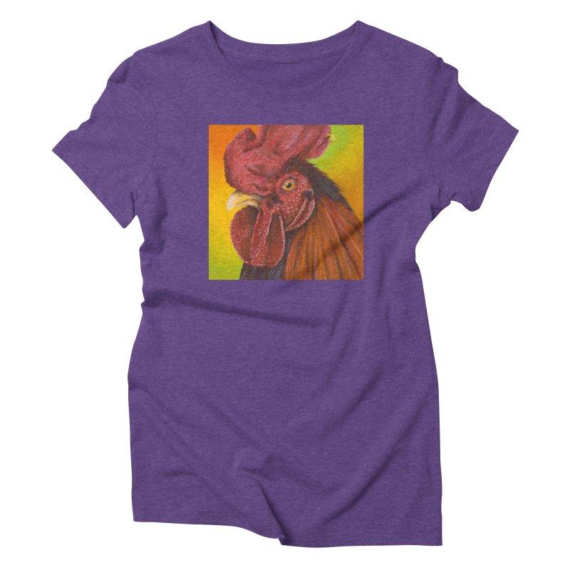 Cock Ring Women's Triblend T-Shirt by mybadart's Artist Shop