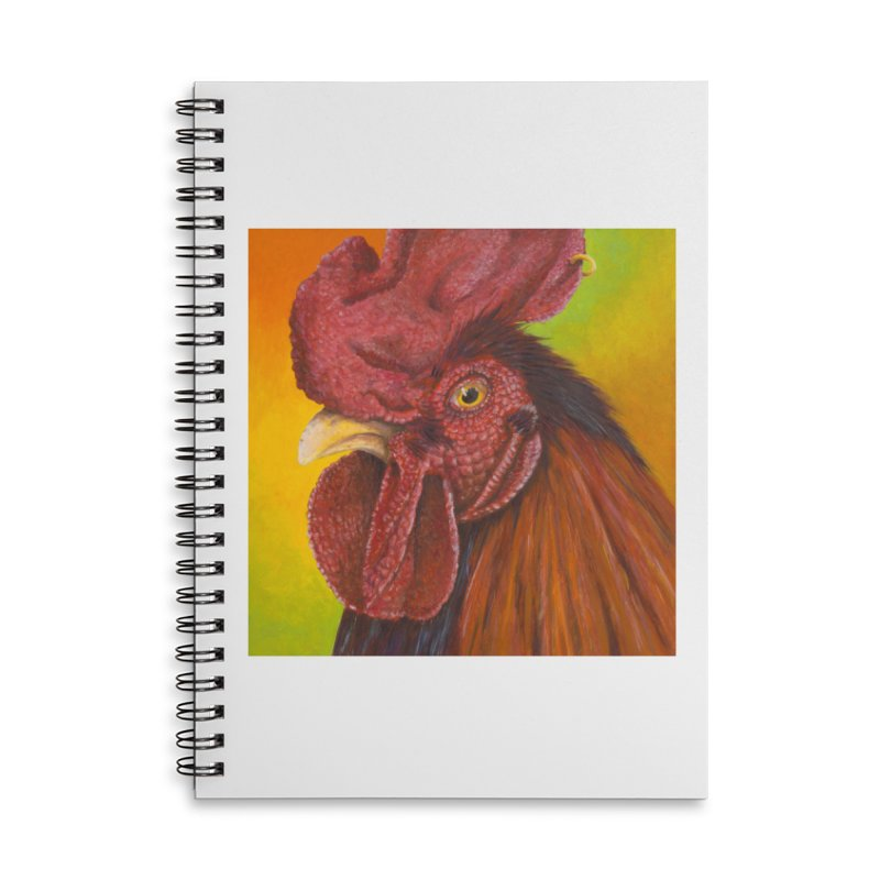 Cock Ring Accessories Lined Spiral Notebook by mybadart's Artist Shop