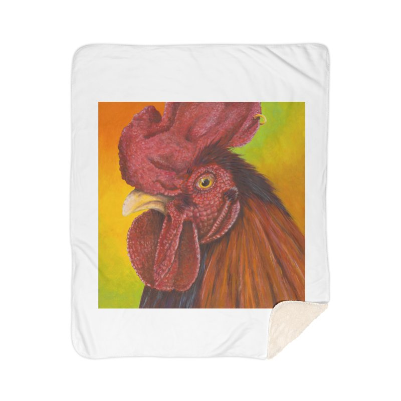 Cock Ring Home Sherpa Blanket Blanket by mybadart's Artist Shop