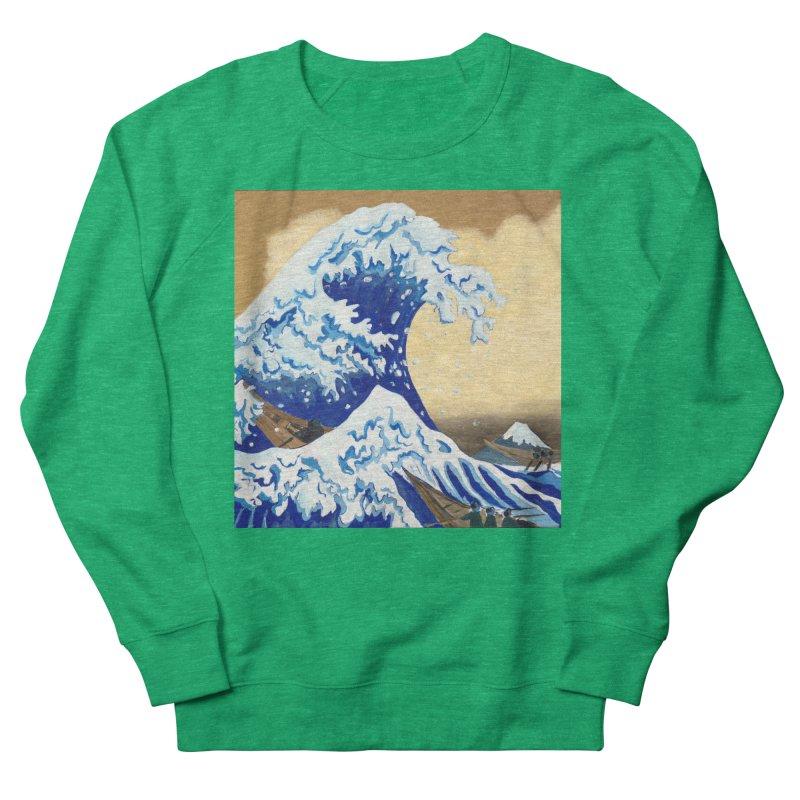 Hokusai - The Great Wave Women's Sweatshirt by mybadart's Artist Shop