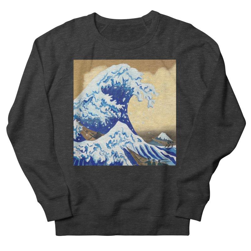 Hokusai - The Great Wave Women's French Terry Sweatshirt by mybadart's Artist Shop