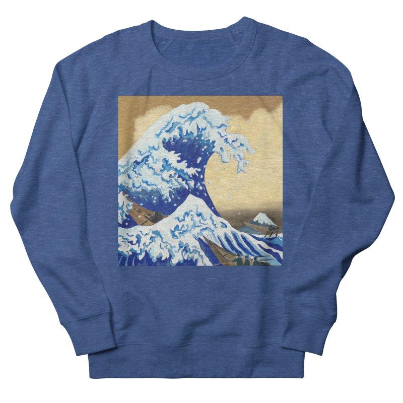 Hokusai - The Great Wave Men's Sweatshirt by mybadart's Artist Shop