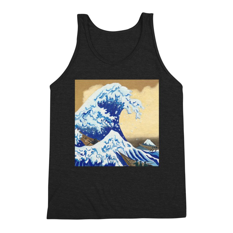 Hokusai - The Great Wave Men's Tank by mybadart's Artist Shop