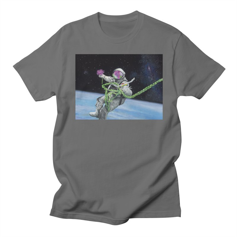 Is anybody out there? Men's T-Shirt by mybadart's Artist Shop