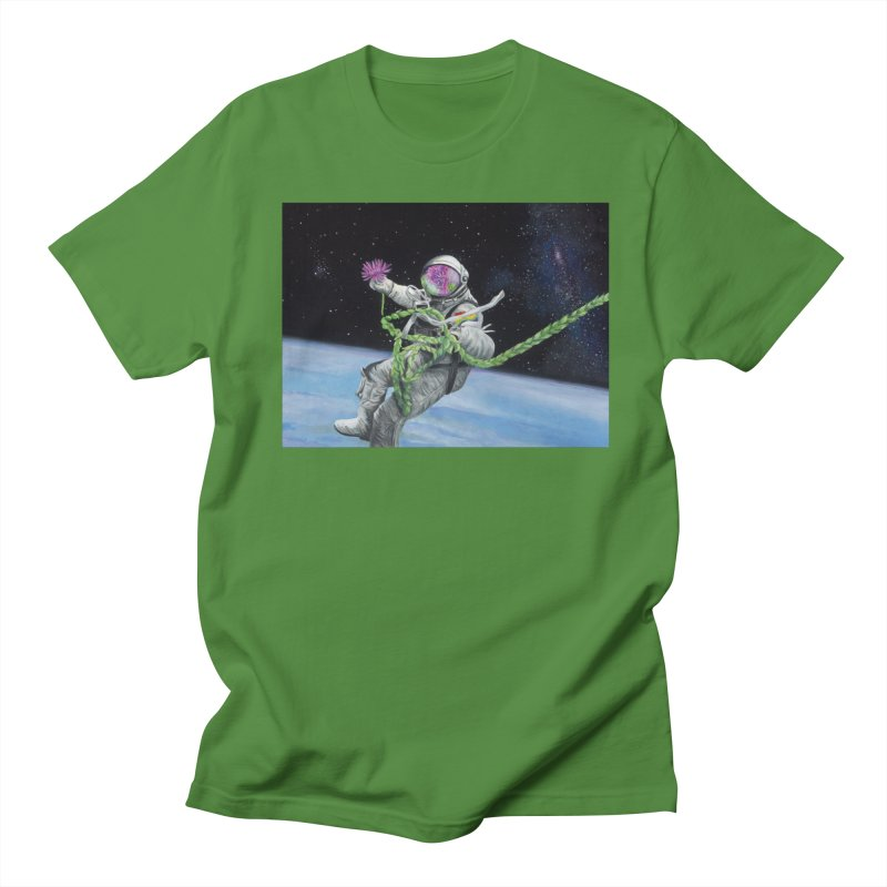 Is anybody out there? Women's Regular Unisex T-Shirt by mybadart's Artist Shop