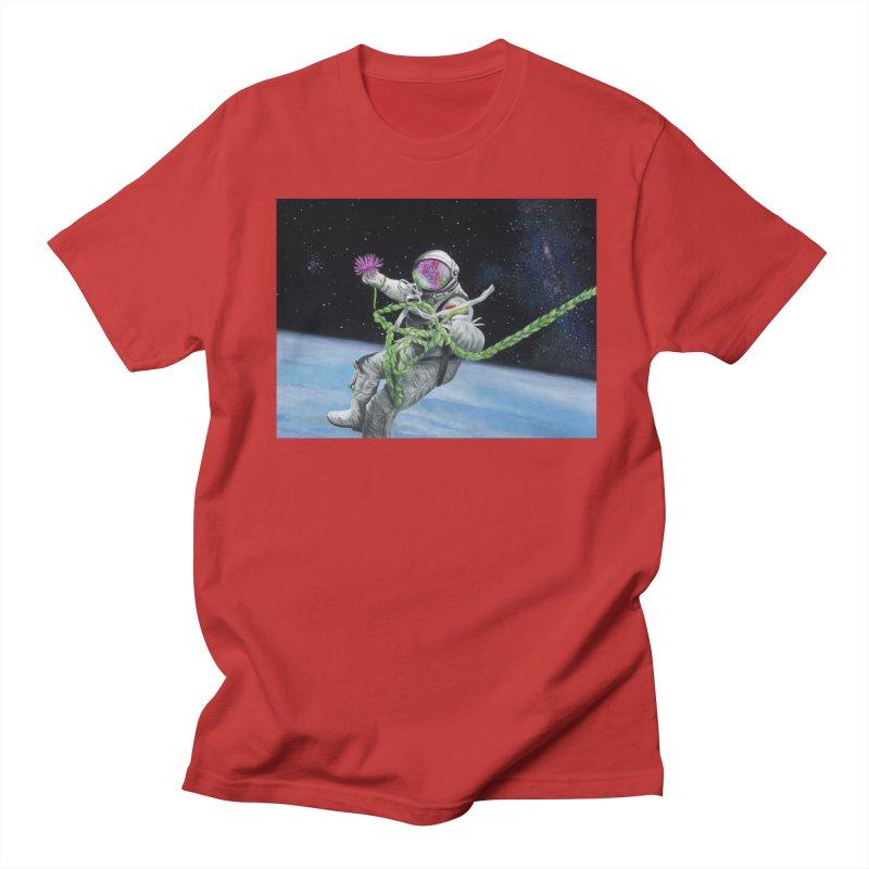 Is anybody out there? Women's Regular Unisex T-Shirt by mybadart's Artist Shop