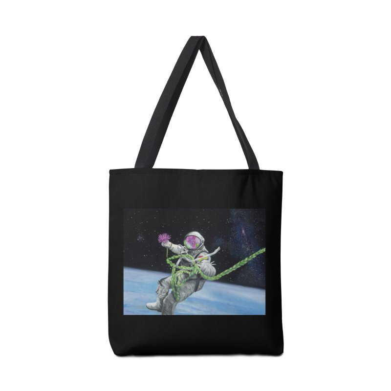 Is anybody out there? Accessories Bag by mybadart's Artist Shop