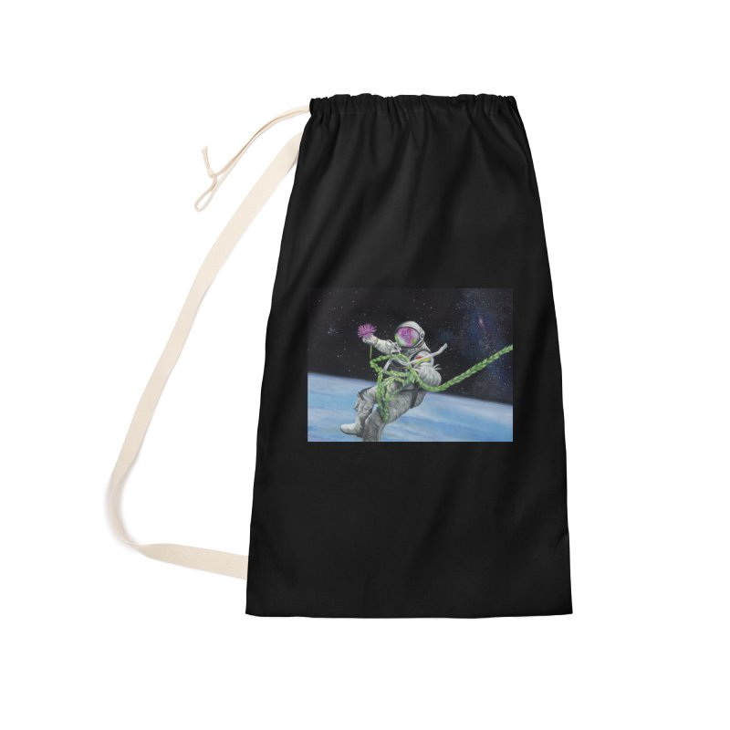 Is anybody out there? Accessories Laundry Bag Bag by mybadart's Artist Shop