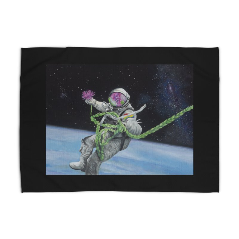 Is anybody out there? Home Rug by mybadart's Artist Shop