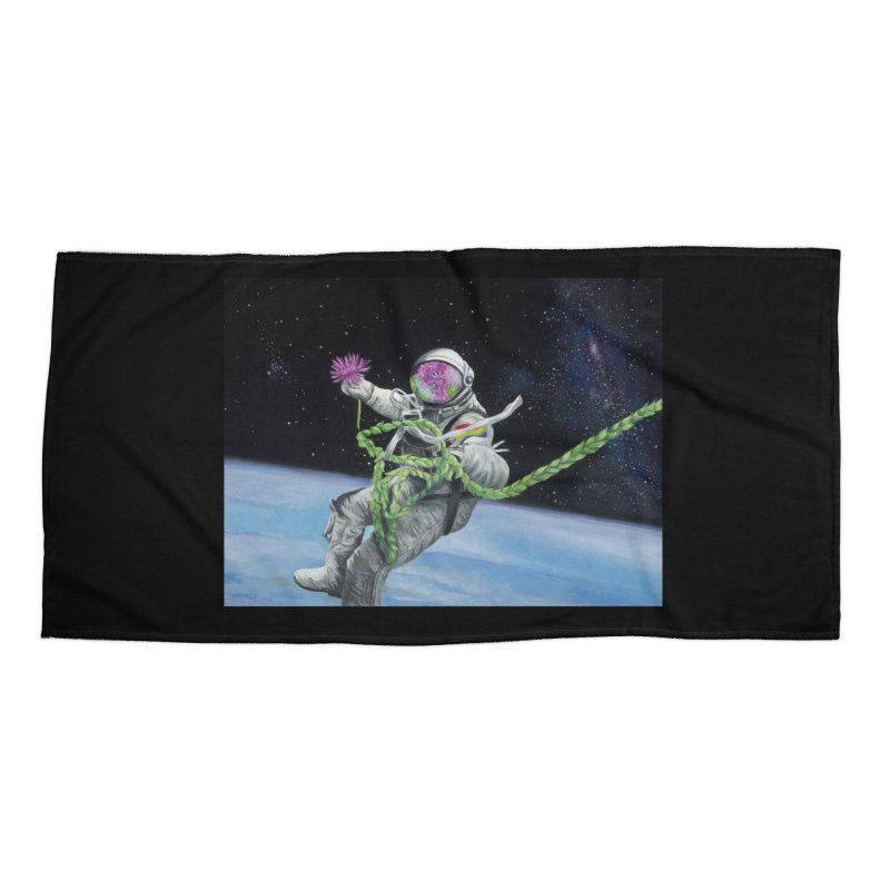 Is anybody out there? Accessories Beach Towel by mybadart's Artist Shop