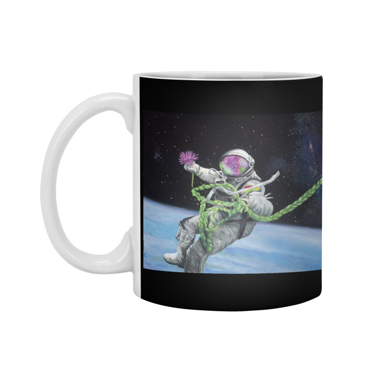 Is anybody out there? Accessories Standard Mug by mybadart's Artist Shop