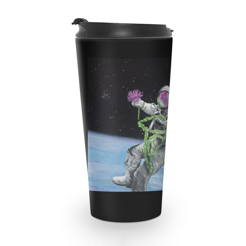 Is anybody out there? Accessories Travel Mug by mybadart's Artist Shop
