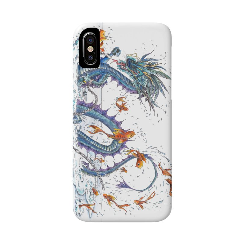 Water Dragon Accessories Phone Case by mybadart's Artist Shop