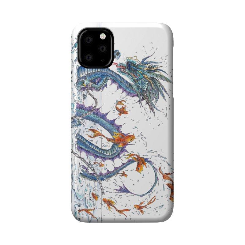 Water Dragon Accessories Phone Case by mybadart's Artist Shop