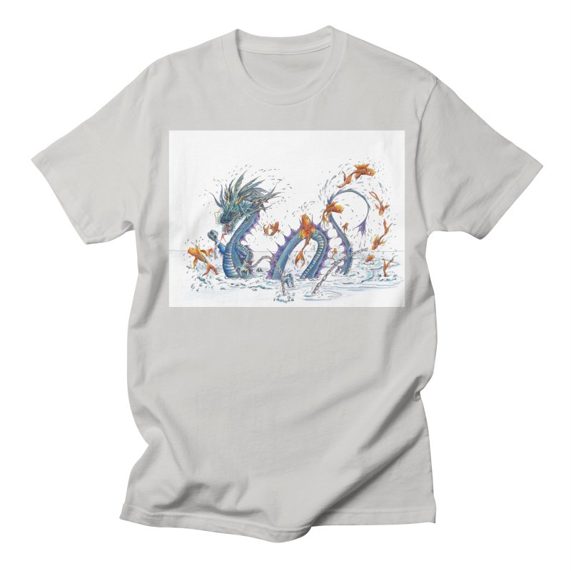 Water Dragon Women's Regular Unisex T-Shirt by mybadart's Artist Shop