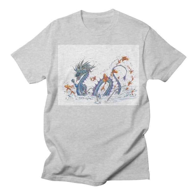 Water Dragon Women's Regular Unisex T-Shirt by mybadart's Artist Shop