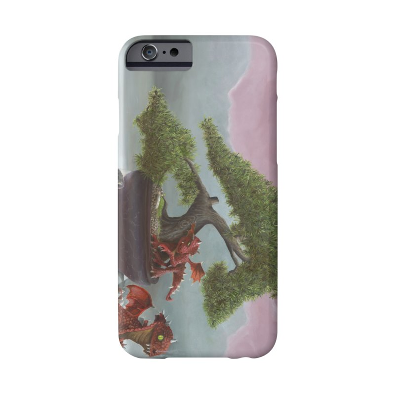 Baby Dragons and Bonsai Accessories Phone Case by mybadart's Artist Shop