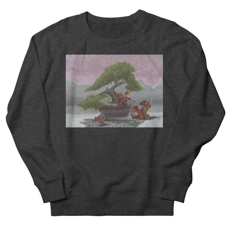 Baby Dragons and Bonsai Women's French Terry Sweatshirt by mybadart's Artist Shop
