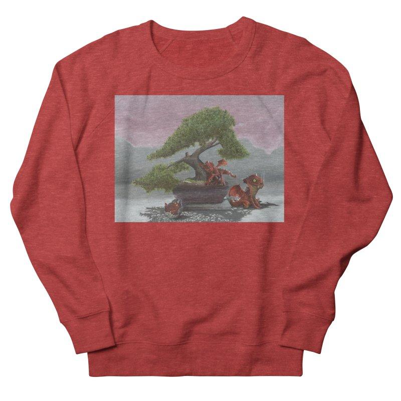 Baby Dragons and Bonsai Men's French Terry Sweatshirt by mybadart's Artist Shop