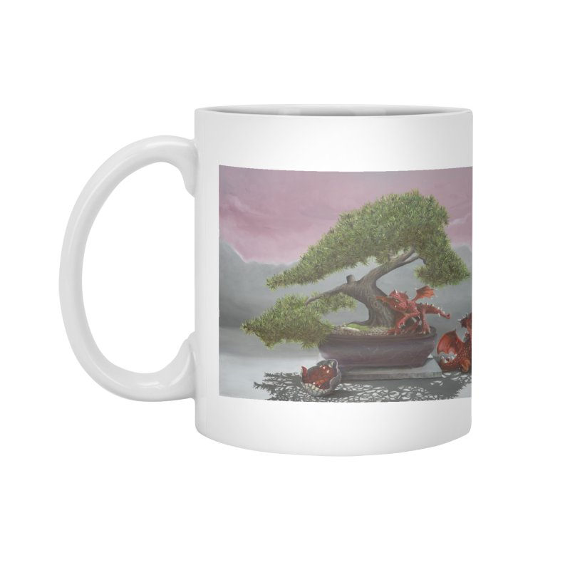 Baby Dragons and Bonsai Accessories Mug by mybadart's Artist Shop