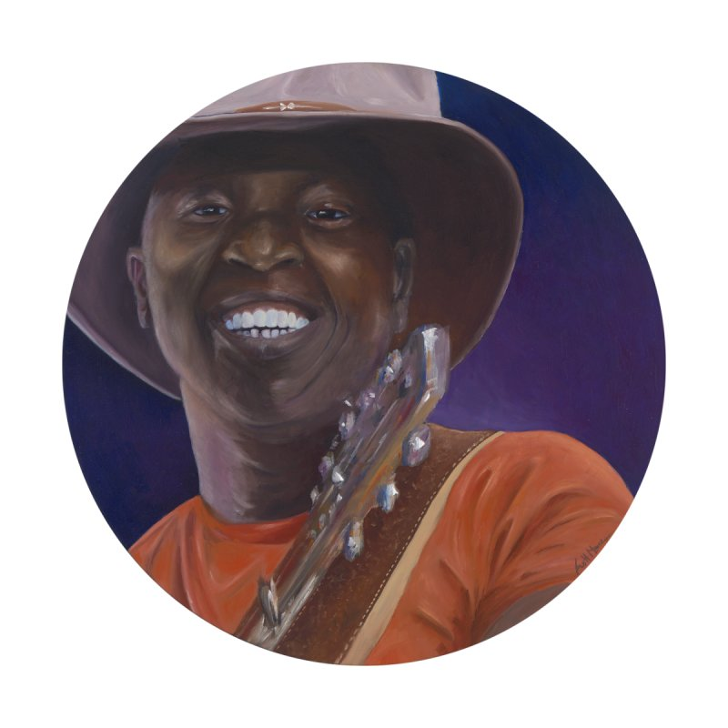 Ali Farka Toure Home Framed Fine Art Print by mybadart's Artist Shop