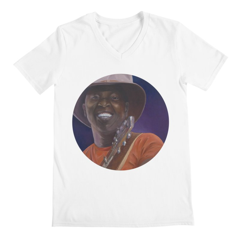 Ali Farka Toure Men's V-Neck by mybadart's Artist Shop