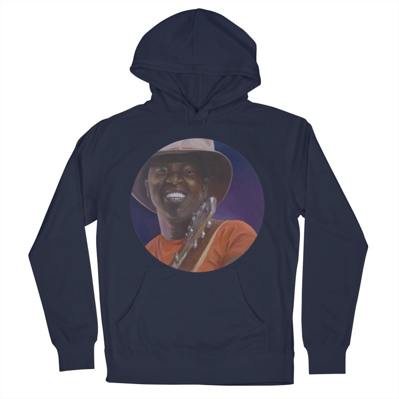 Ali Farka Toure Women's French Terry Pullover Hoody by mybadart's Artist Shop