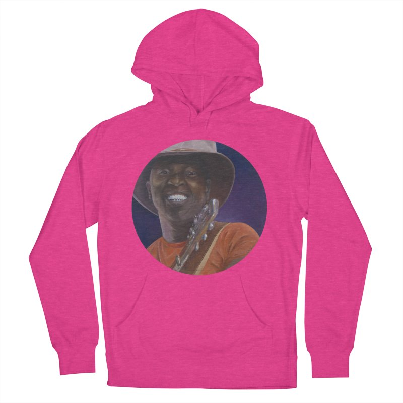 Ali Farka Toure Men's French Terry Pullover Hoody by mybadart's Artist Shop