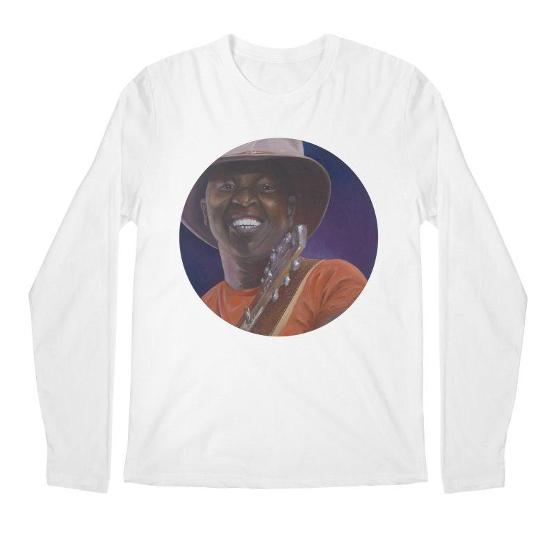 Ali Farka Toure Men's Regular Longsleeve T-Shirt by mybadart's Artist Shop