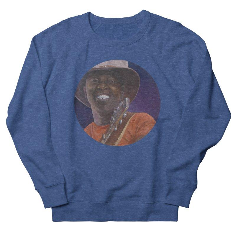 Ali Farka Toure Women's French Terry Sweatshirt by mybadart's Artist Shop