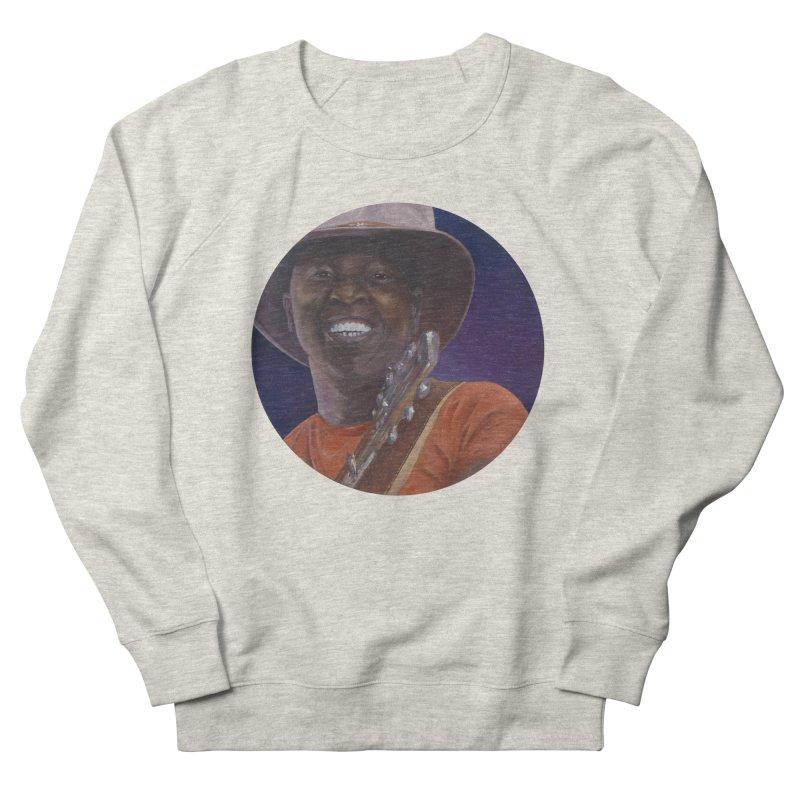 Ali Farka Toure Men's French Terry Sweatshirt by mybadart's Artist Shop