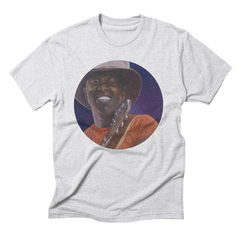 Ali Farka Toure Men's Triblend T-Shirt by mybadart's Artist Shop