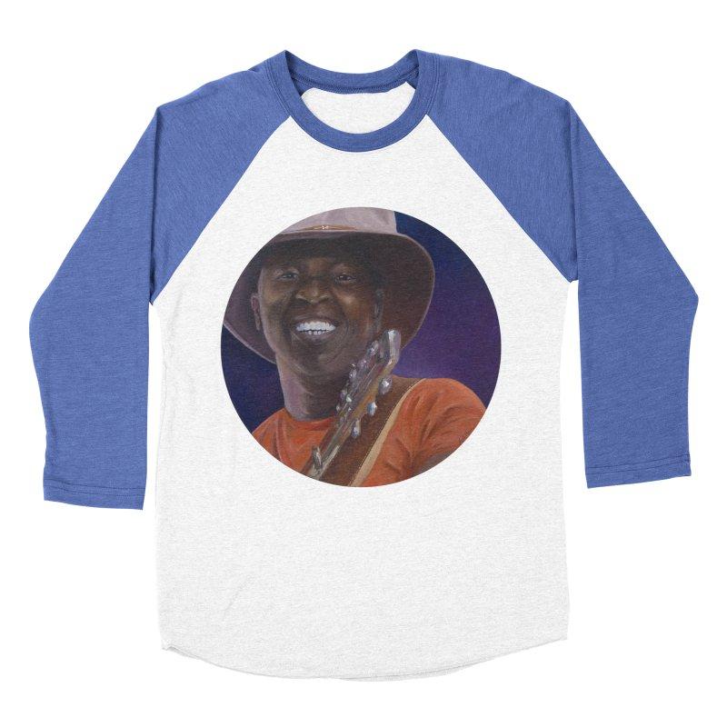 Ali Farka Toure Men's Baseball Triblend Longsleeve T-Shirt by mybadart's Artist Shop