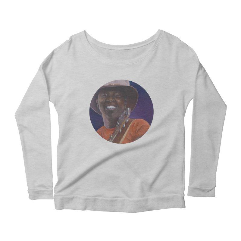 Ali Farka Toure Women's Scoop Neck Longsleeve T-Shirt by mybadart's Artist Shop