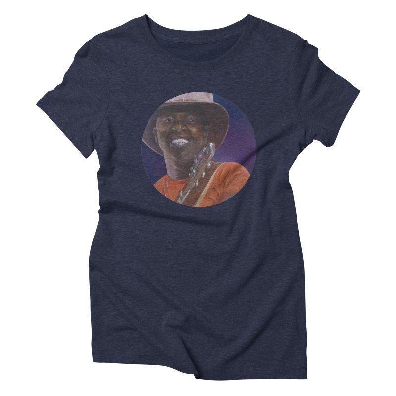 Ali Farka Toure Women's Triblend T-Shirt by mybadart's Artist Shop