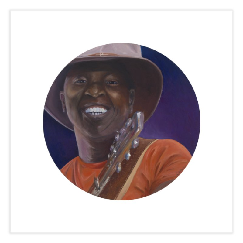 Ali Farka Toure Home Fine Art Print by mybadart's Artist Shop
