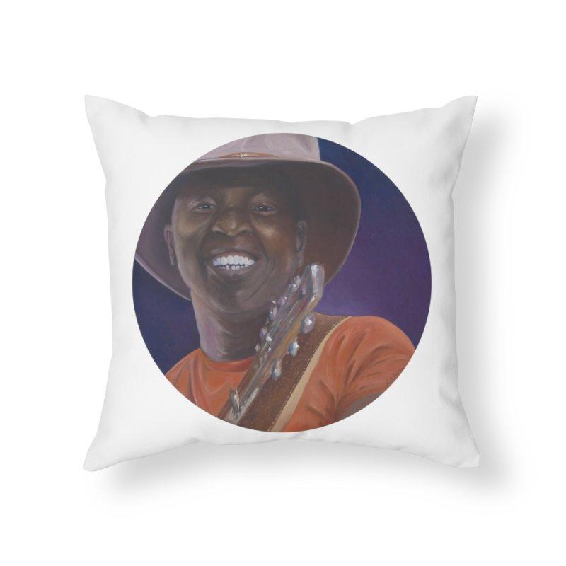 Ali Farka Toure Home Throw Pillow by mybadart's Artist Shop